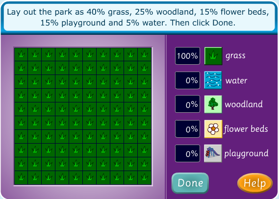 Fractions decimals and percentages lesson plan a park for 10 in 1 games table australia