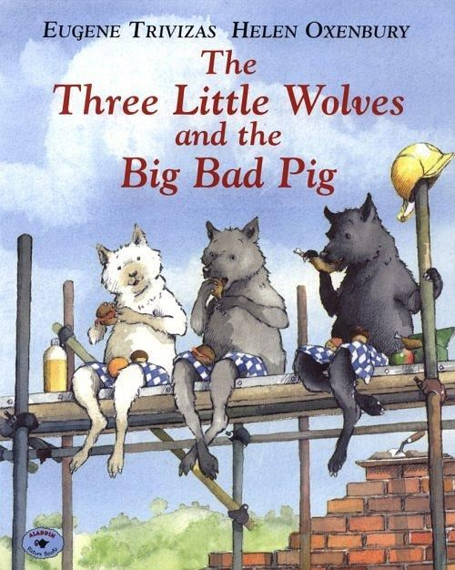 Teaching Similarity and Difference Lesson Plan: The Three Little Wolves and the Big Bad Pig