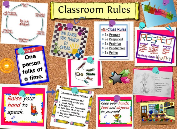 Classroom Activity Ideas High School ~ Easy activities to help set rules and expectations