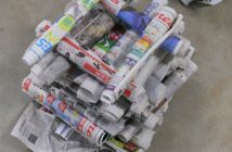 Newspaper Tower Activity