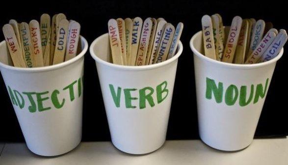 math worksheet : nouns verbs and adjectives lesson plan for years 234  : Nouns Verbs Adjectives First Grade