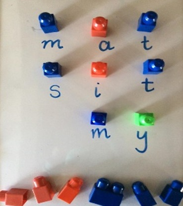 Lego Spelling 4
